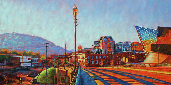 Roanoke Wall Art - Painting - A New Day by Bonnie Mason