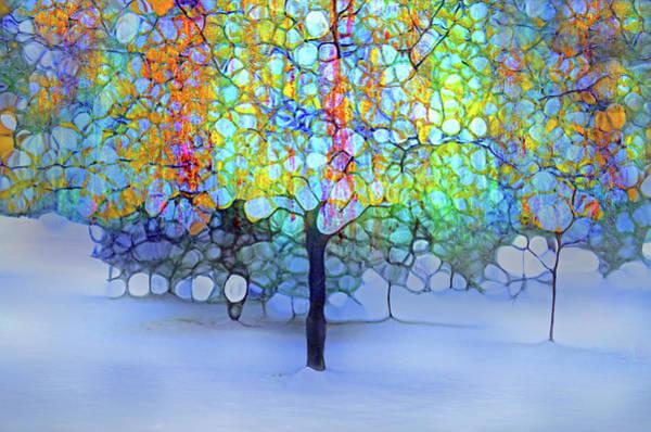 Cheery Digital Art - A New Day In Winter by Tara Turner