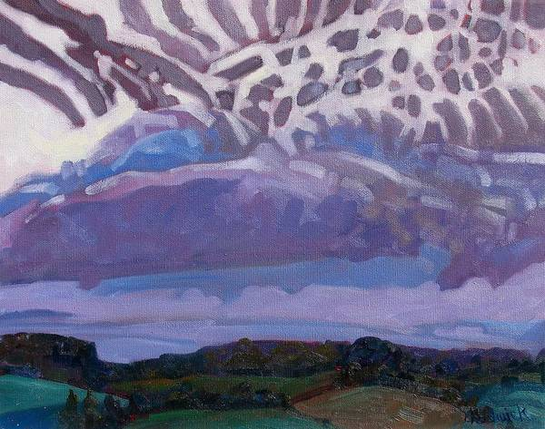 Stratocumulus Painting - A New Day by Phil Chadwick