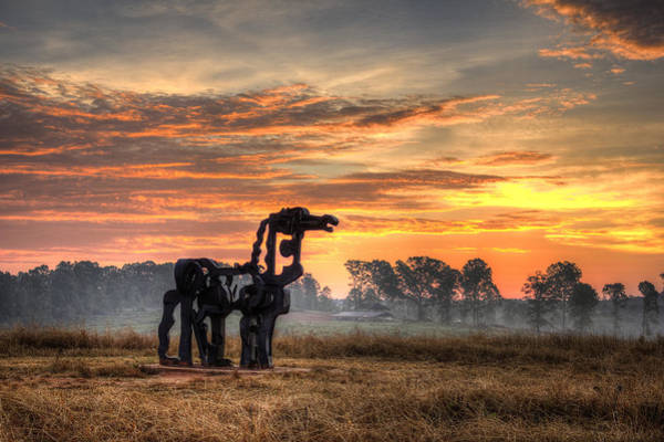 Time Magazine Photograph - A New Day The Iron Horse by Reid Callaway