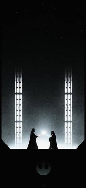 Jedi Digital Art - A New Hope by Colin Morella