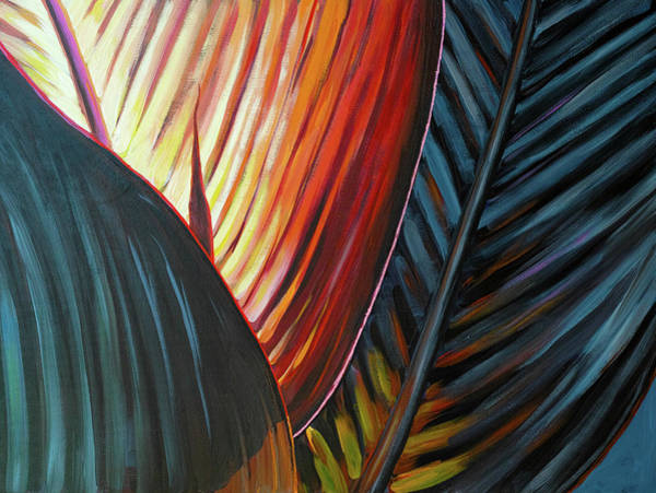 Painting - A New Leaf by Lesley Spanos