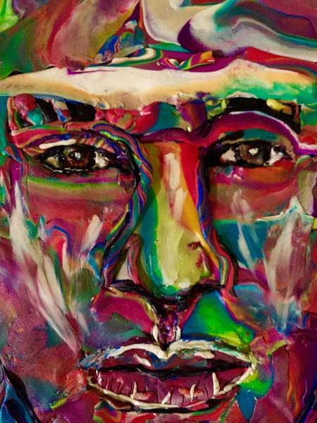 Mixed Media - A New Man by Deborah Stanley