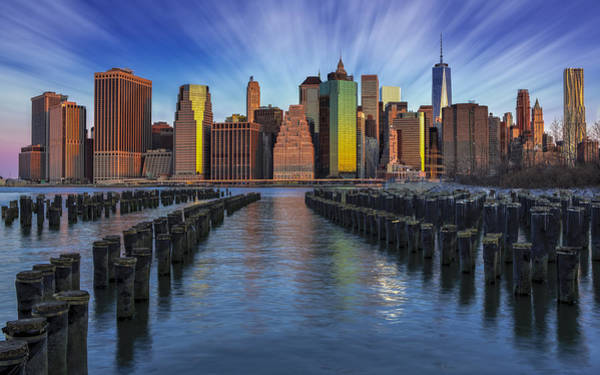 Photograph - A New York City Day Begins by Susan Candelario