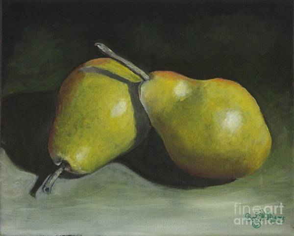 Painting - A Nice Pair by Bob Williams
