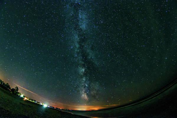Sauble Beach Photograph - A Night At The Beach by Steve Harrington
