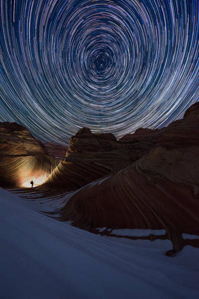 Photograph - A Night At The Wave by Dustin  LeFevre