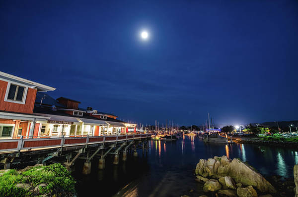 Photograph - A Night In Monterey by Margaret Pitcher