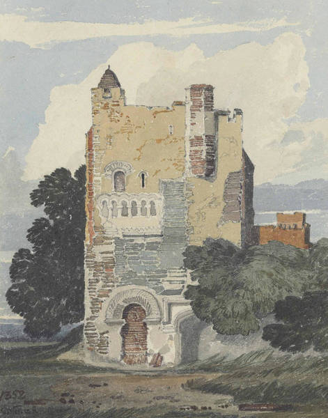 Painting - A Norman Tower by John Sell Cotman