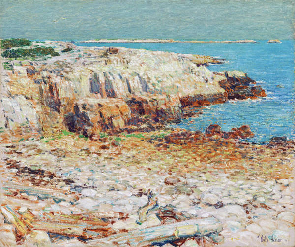 Painting - A North East Headland by Childe Hassam
