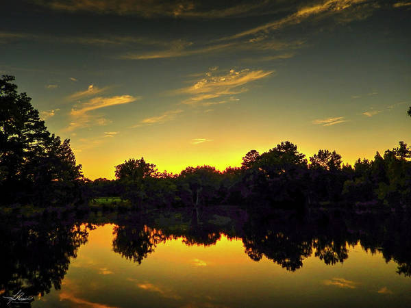 Photograph - A Northeast Texas Sunset by Philip Rispin