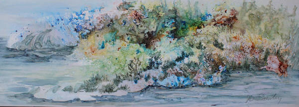 Painting - A Northern Shoreline by Joanne Smoley