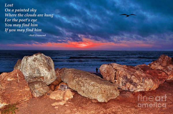 Wall Art - Photograph - A Painted Sky For The Poet's Eye by Jim Fitzpatrick