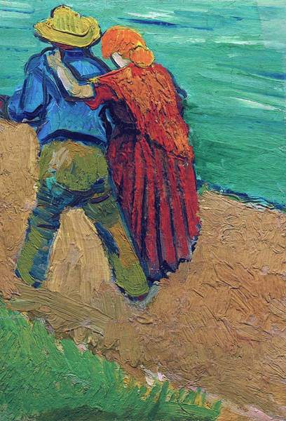 Wall Art - Painting - A Pair Of Lovers, Arles, 1888 Sothebys Version by Vincent Van Gogh