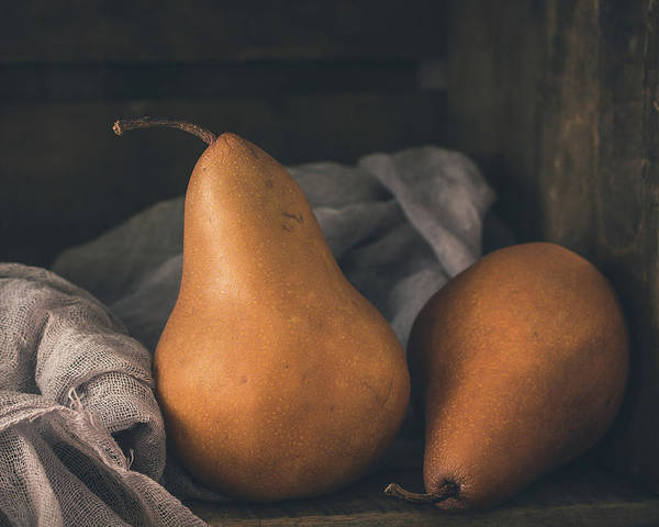Photograph - A Pair Of Pears by Teresa Wilson