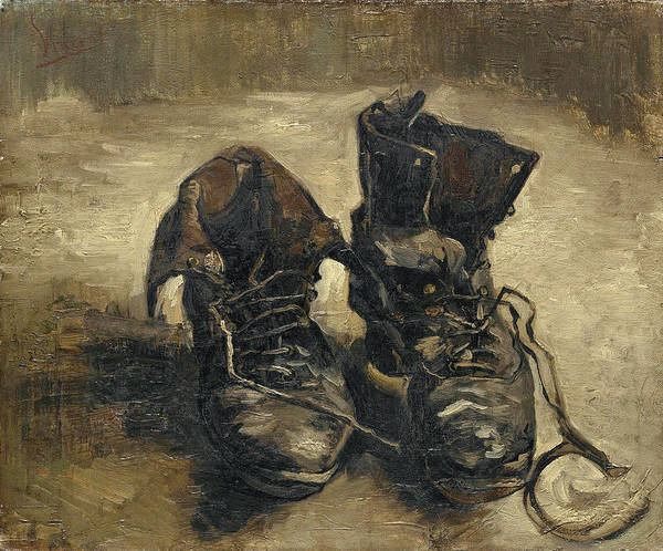 Wall Art - Painting - A Pair Of Shoes, 1886 by Vincent Van Gogh