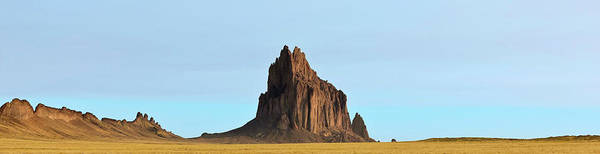 Wall Art - Photograph - A Panorama Of Shiprock In New Mexico by Derrick Neill