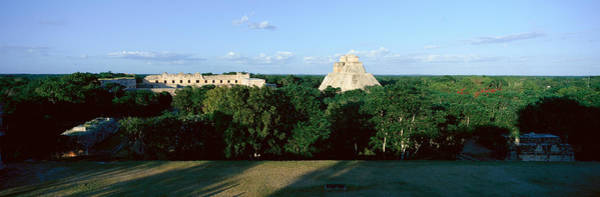 Mesoamerican Photograph - A Panoramic View From Left To Right by Panoramic Images