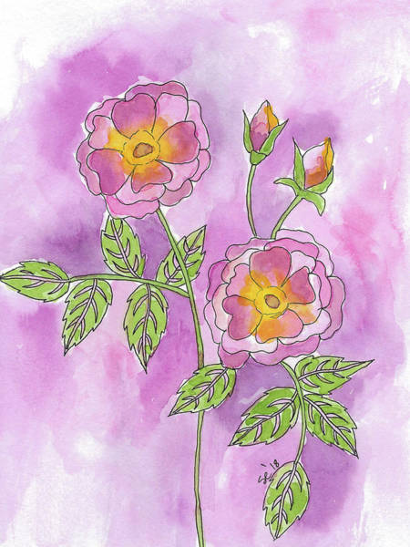 Painting - A Passion For Pink by Susan Campbell