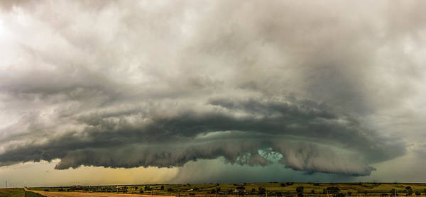 Photograph - A Passion For Shelf Clouds 013 by NebraskaSC
