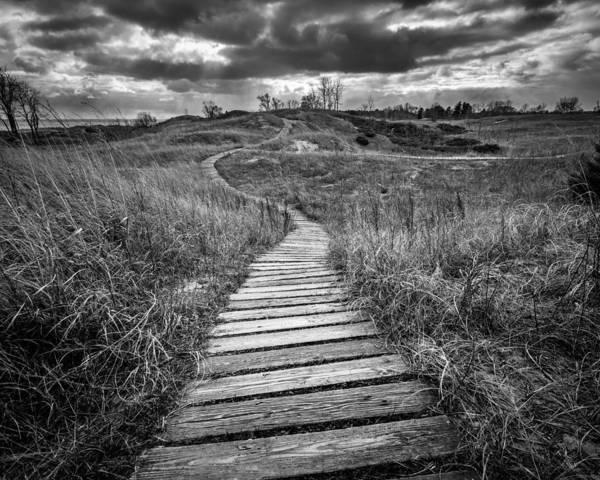 Boardwalk Photograph - A Path Unwound by Josh Eral