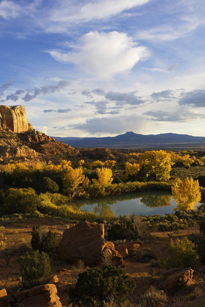 Southwest Usa Photograph - A Peaceful Landscape Stretches by Ralph Lee Hopkins