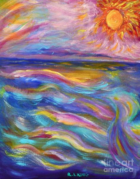 Painting - A Peaceful Mind - Abstract Painting by Robyn King