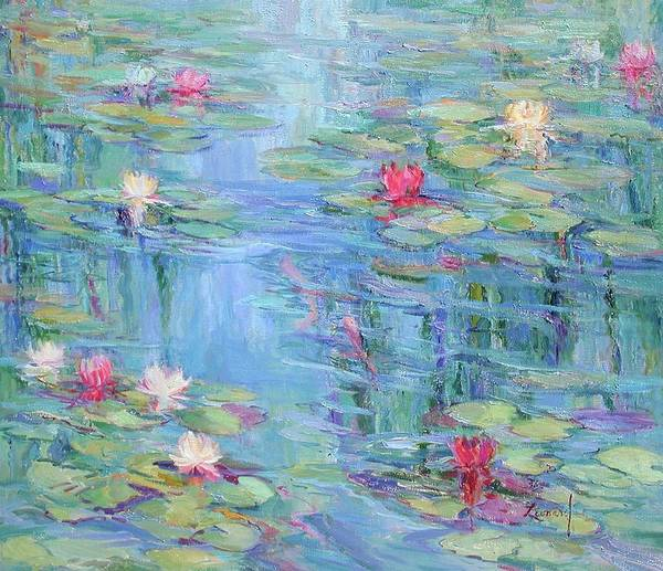 Wall Art - Painting - A Peaceful Place by Diane Leonard