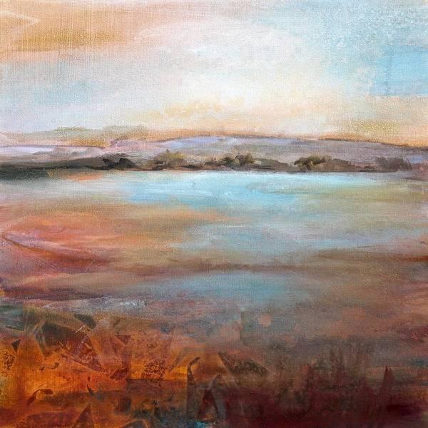 Wall Art - Painting - A Peaceful World 20x20 by Karen Hale