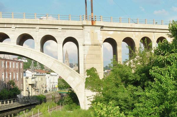Wall Art - Photograph - A Peek At St Johns Through The Manayunk Bridge by Bill Cannon