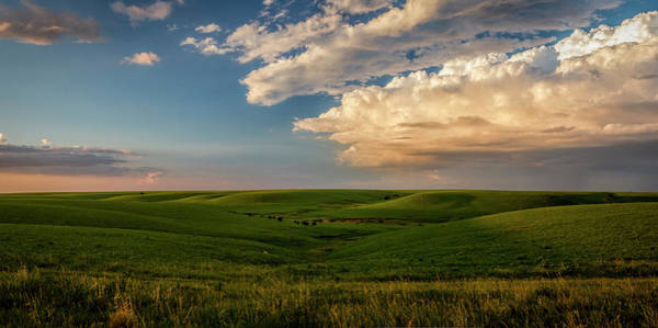 Photograph - A Perfect Evening On The Prairie by Scott Bean