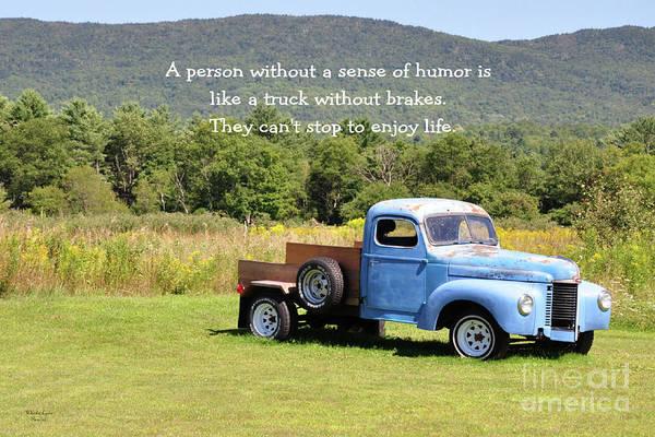Waterbury Photograph - A Person Without A Sense Of Humor by Wanda-Lynn Searles