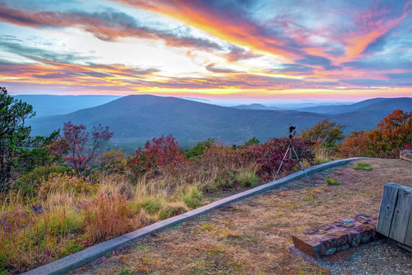 Photograph - A Photographer's Palette - Talimena Scenic Byway by Gregory Ballos