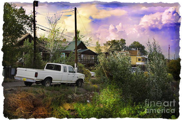 Houses Wall Art - Photograph - A Pickup Truck In New Mexico by Madeline Ellis