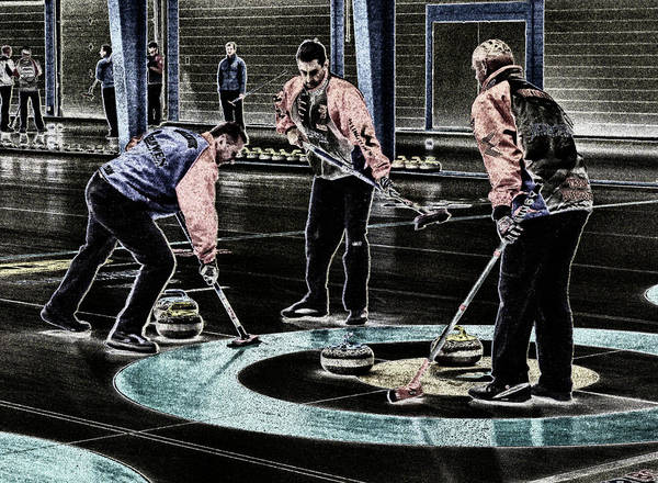 Photograph - A Piece Of Curling Art by Lawrence Christopher