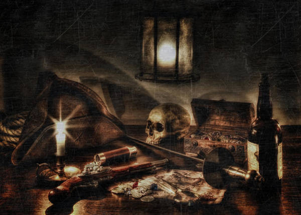 Wall Art - Photograph - A Pirates Life by Hans Zimmer