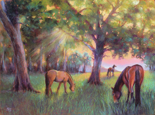 Painting - A Place Of Healing by Susan Jenkins