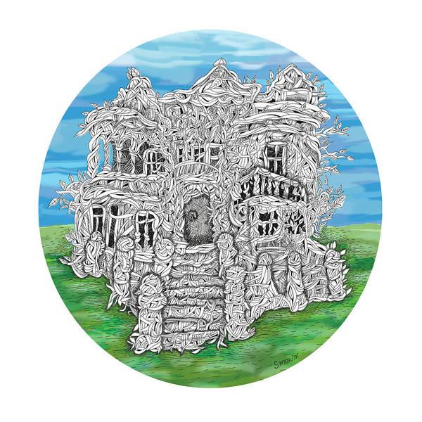 Color Digital Art - House Of Secrets by Smokini Graphics