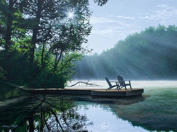 Painting - A Place To Ponder by Anthony Padgett