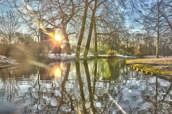 A Pond In Rotterdam Art Print