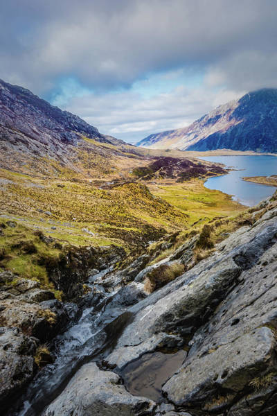 Photograph - A Portrait Of Snowdonia by Nick Bywater
