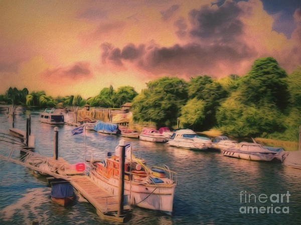 Photograph - A Pretty River Work by Leigh Kemp
