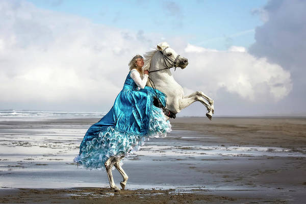 Photograph - A Princess And Her Steed by Wes and Dotty Weber