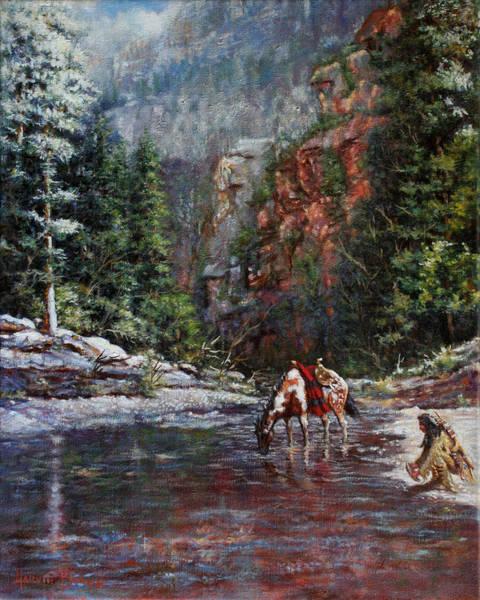 A Prospector's Pan Art Print