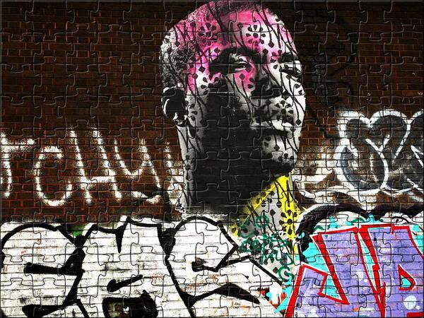 Wall Art - Photograph - A Puzzled London Man  by Funkpix Photo Hunter