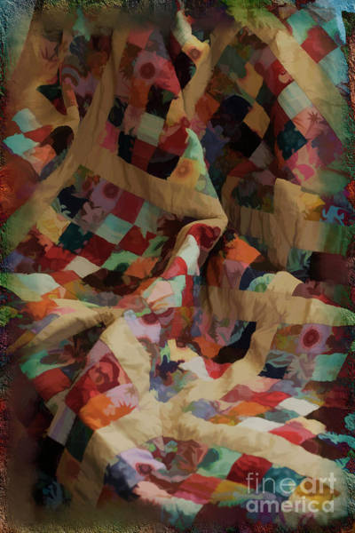 Digital Art - A Quilt 2016 by Kathryn Strick