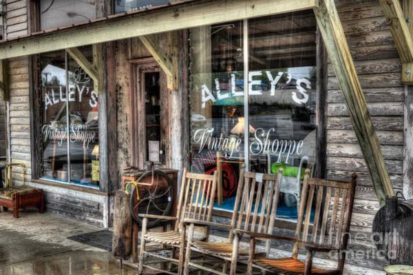 Wall Art - Photograph - A Rainy Day At The Vintage Shoppe I by Dan Carmichael