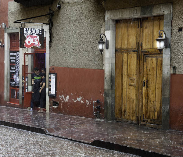 Photograph - A Rainy Day In Mexico by Barry Weiss