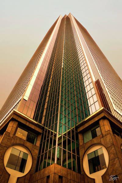 Photograph - A Really Tall Building by Endre Balogh