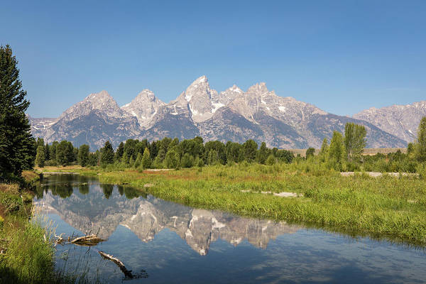 Photograph - A Reflection Of The Tetons by M C Hood